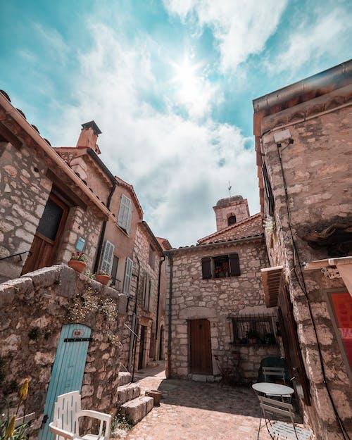 南法國, 城鎮, 建築, 房子 的 免費圖庫相片