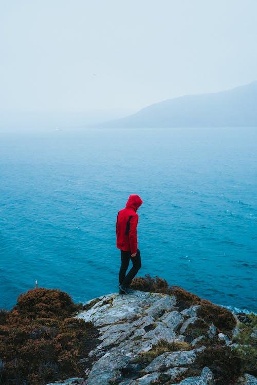 人, 冒險, 懸崖, 日光 的 免费素材照片