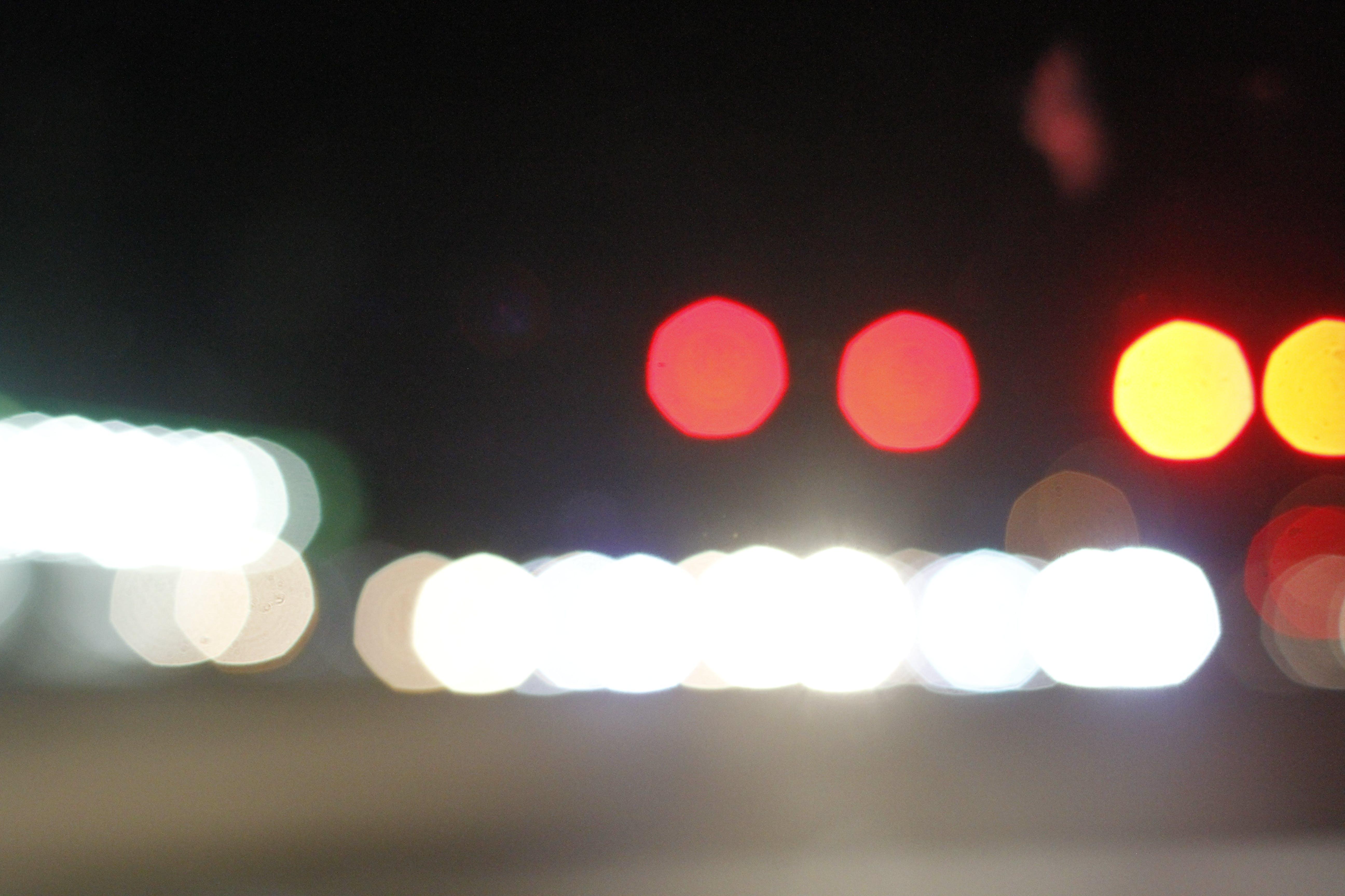 Free stock photo of bokeh, dark background, lights