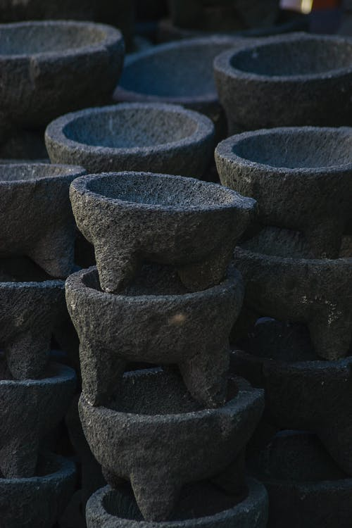 molcajete, グラインダー, 石の無料の写真素材