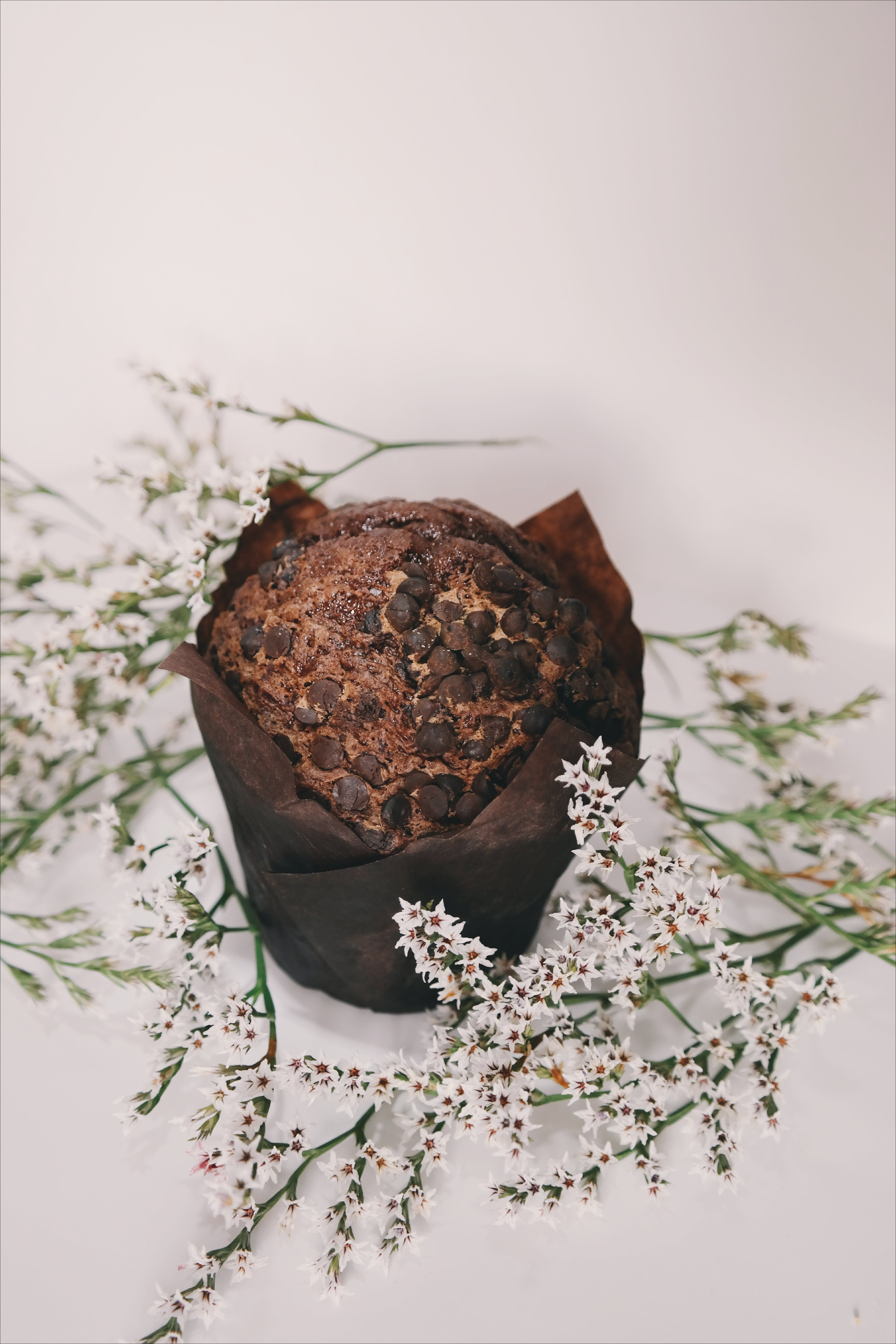 Chocolate Muffin Top With Chocolate Chips