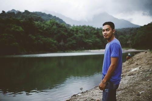 Foto stok gratis air, alam, batu, gunung