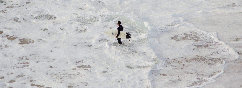 Free stock photo of browsing, sand-beach, sea, surfboard