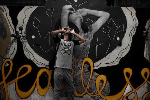 Gratis stockfoto met artistiek, aziatisch jongetje, designen, graffiti