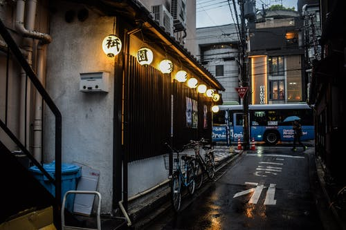 Fotos de stock gratuitas de calle, farol, Japón, ligero