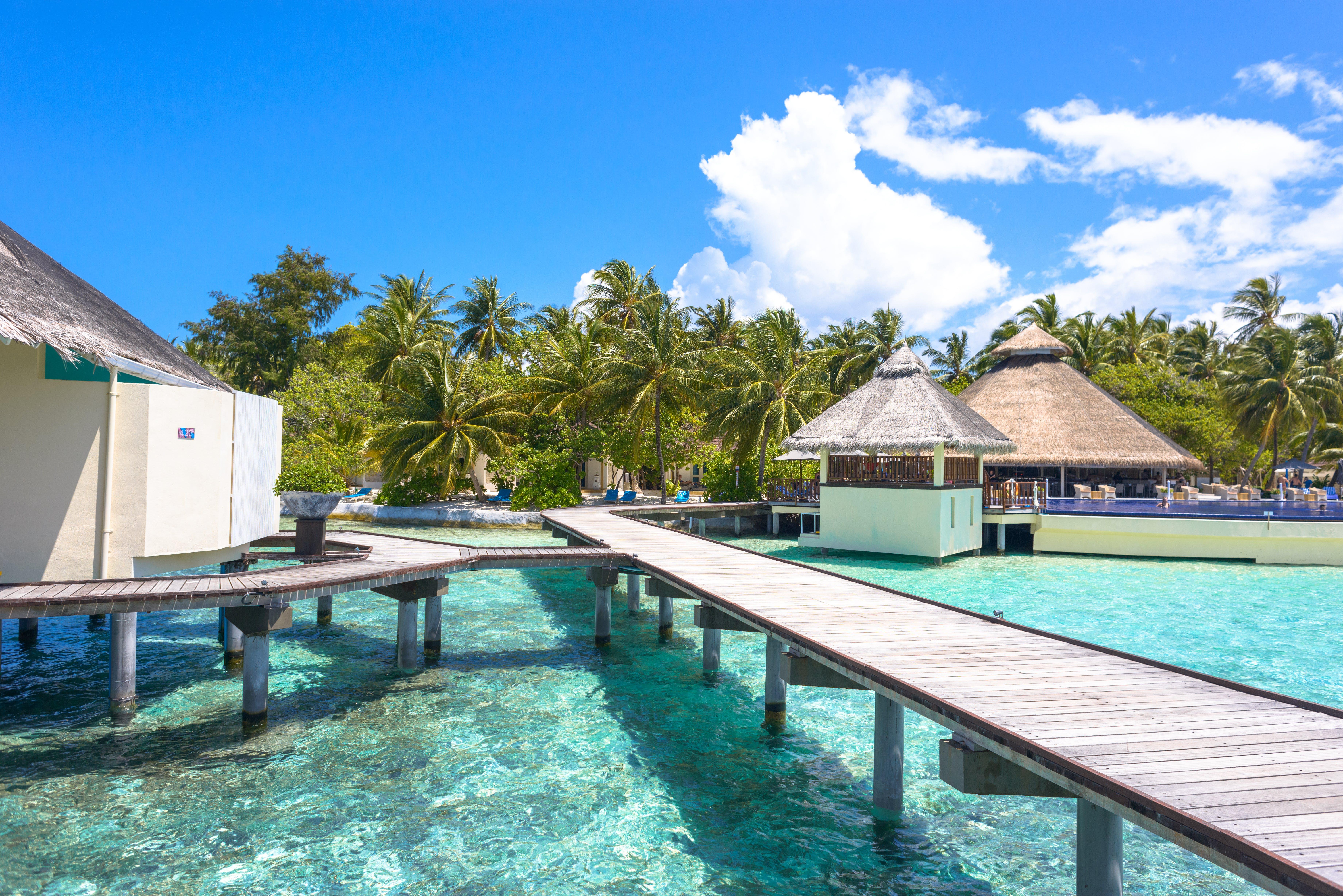 Kostenloses Stock Foto zu baden, badeort, brücke, einbaum-pool