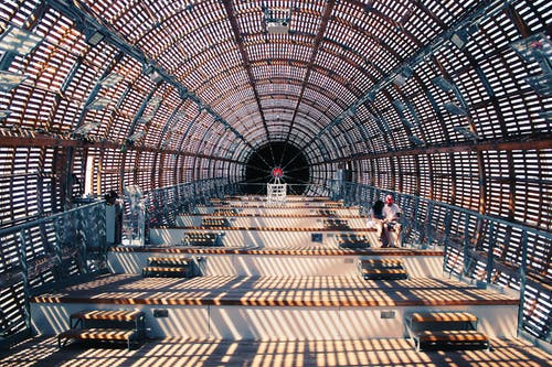 Fotos de stock gratuitas de acero, adentro, arquitectura, construcción