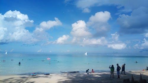 Photos gratuites de bateau, ciel, eau, gens