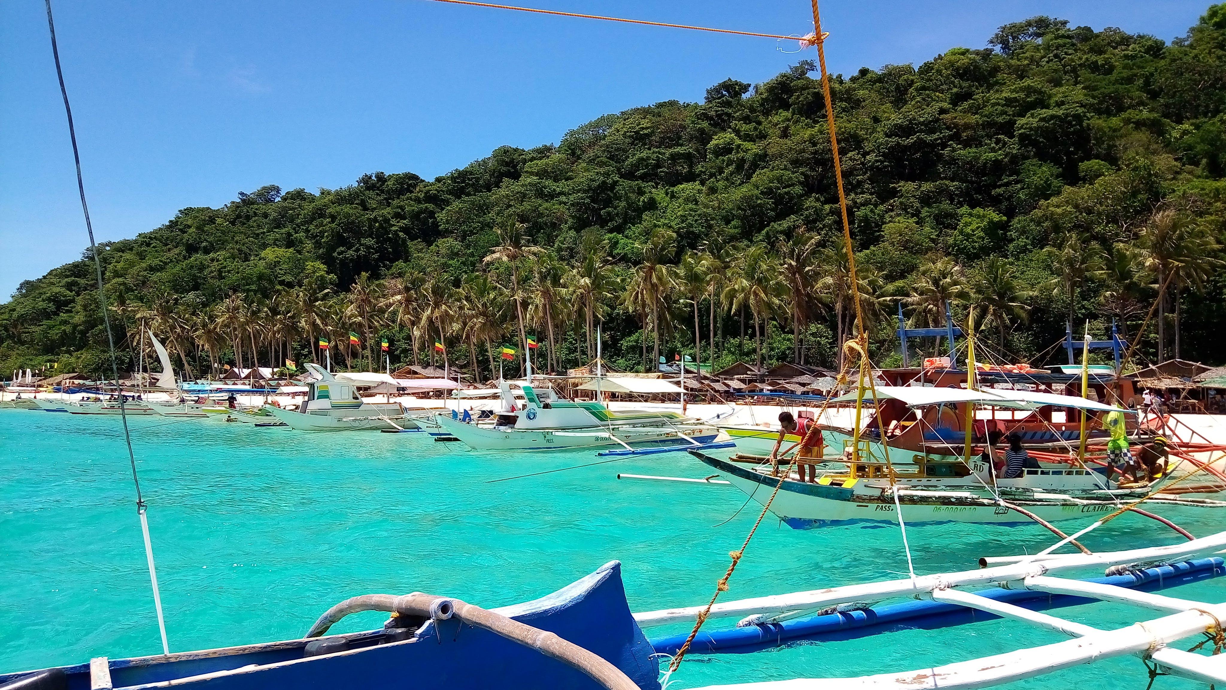 Free stock photo of boat, Boracay, spot, tourist