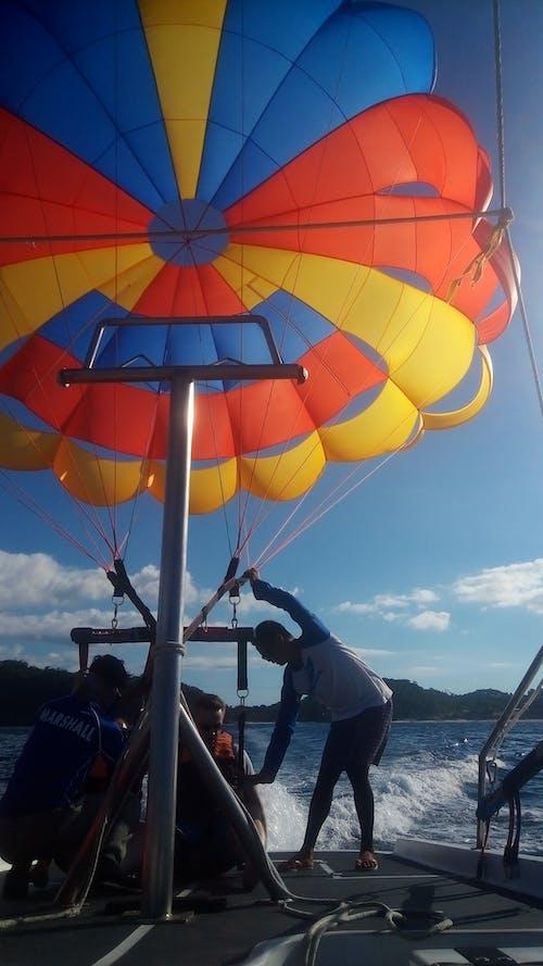Photos gratuites de bateau de vitesse, boracay, ciel, plage