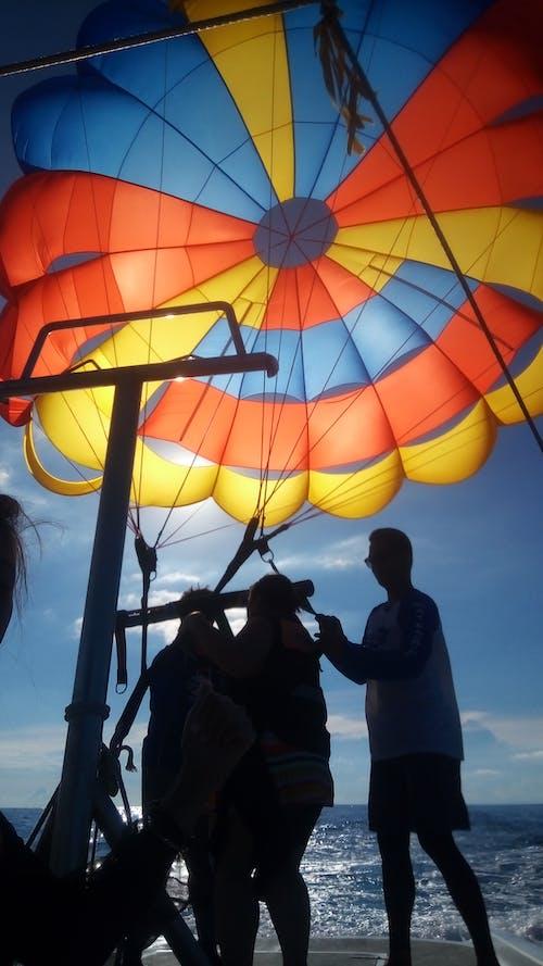 Photos gratuites de ballon, bateau de vitesse, boracay, ciel
