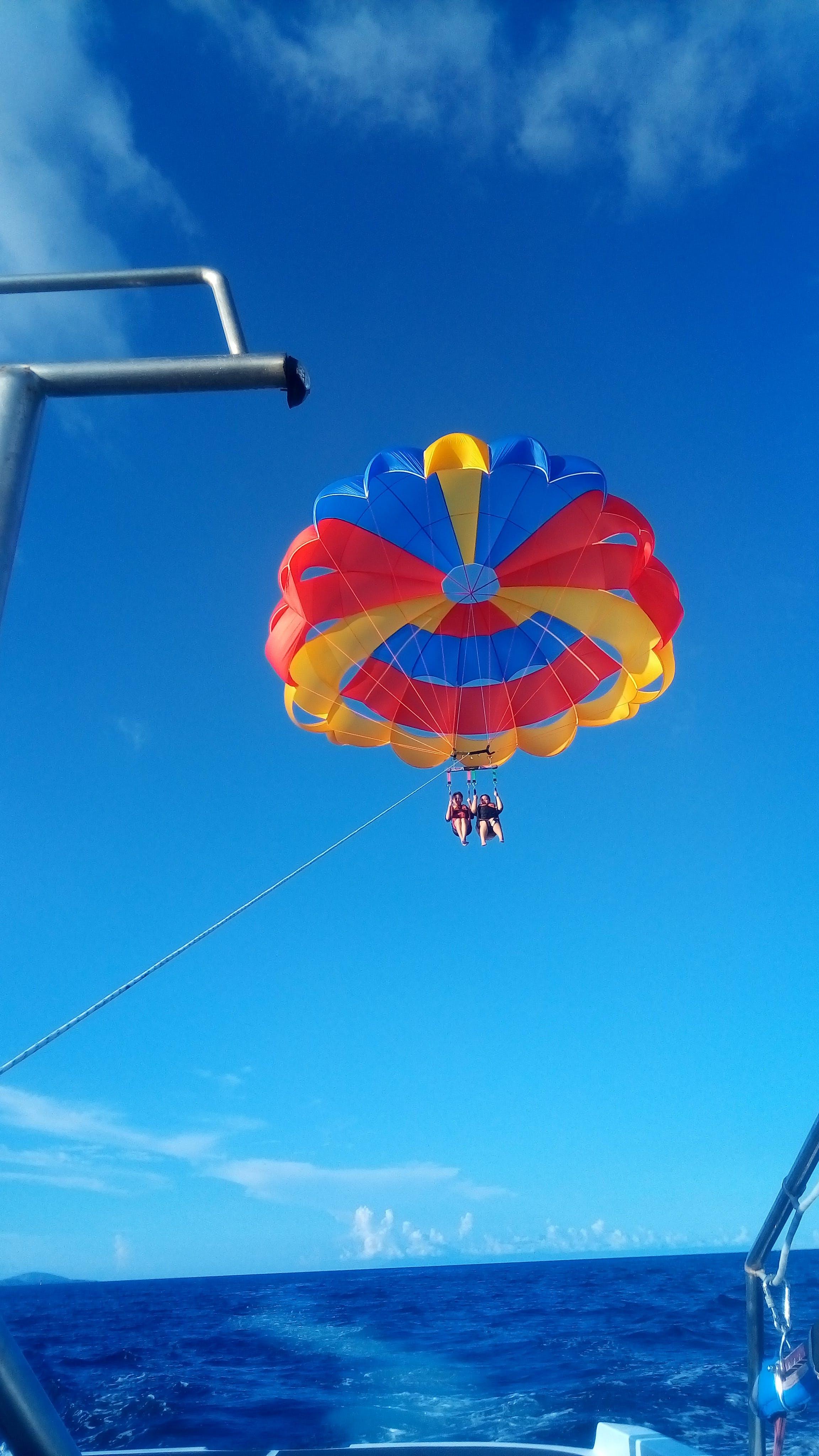 Free stock photo of air, ballon, beach, sky