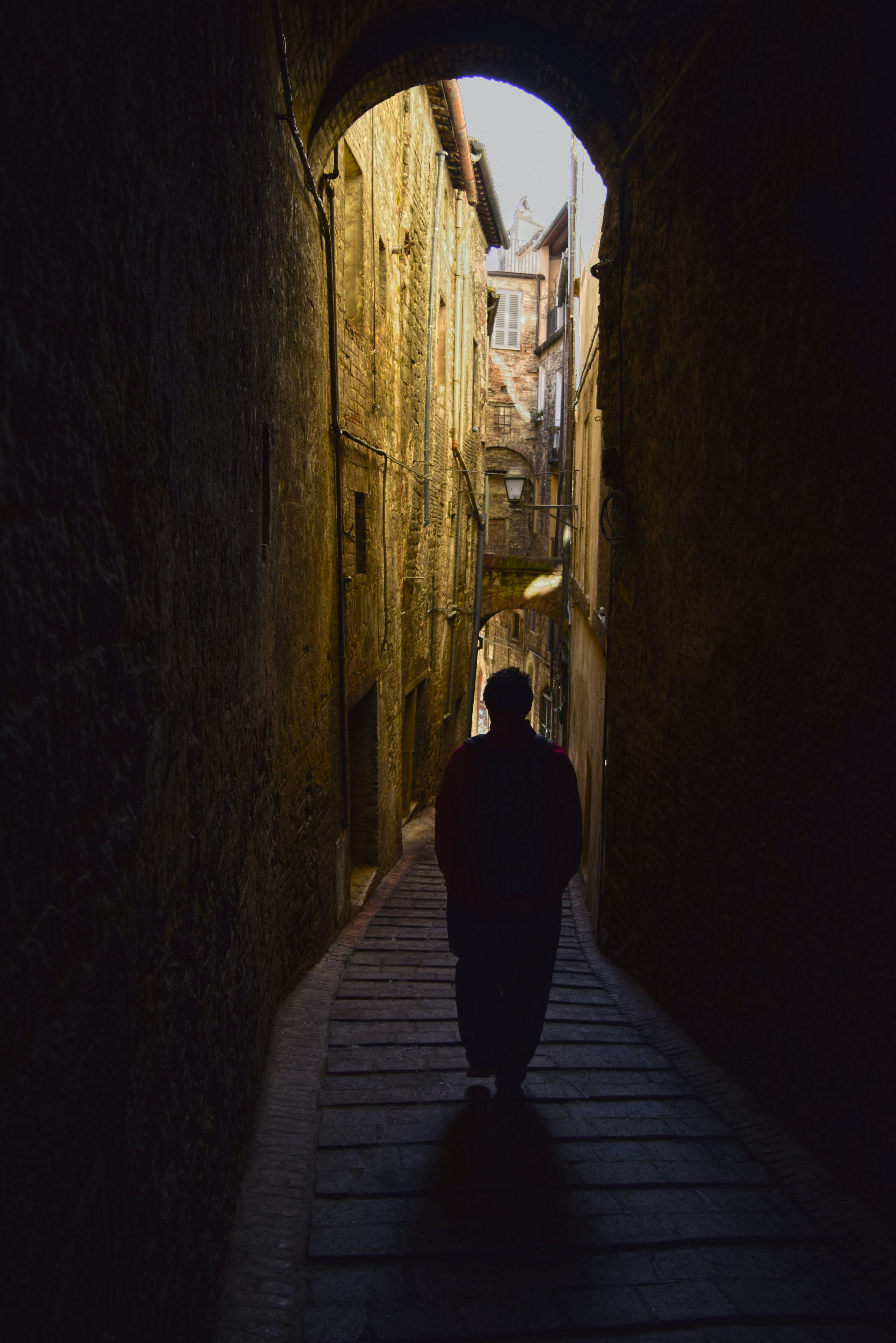Free stock photo of adventure, alone, downhill, downstairs