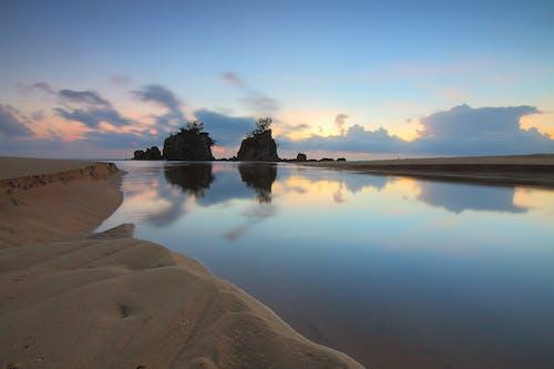 Základová fotografie zdarma na téma krajina, mraky, obloha, odrazy