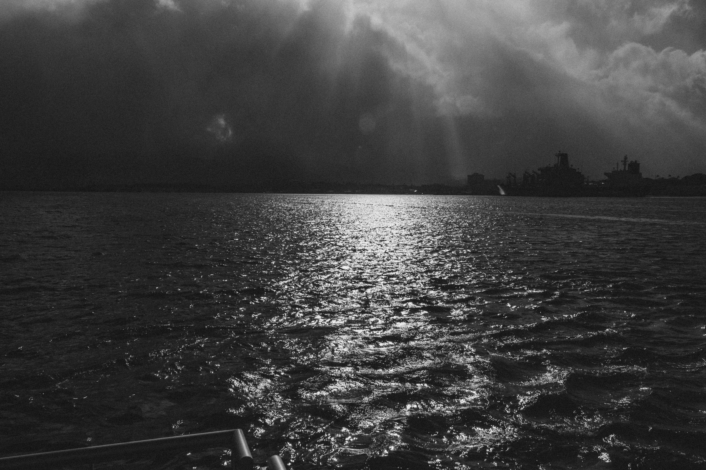 Free stock photo of nature, ocean, sun, sunrise
