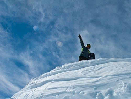 Gratis stockfoto met snowboarden