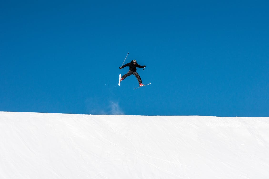 Free stock photo of jump, jumpers, ski