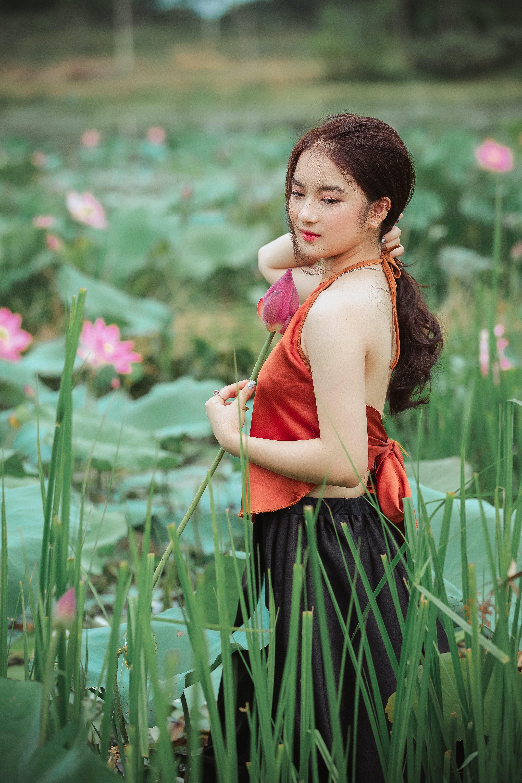 Fotos de stock gratuitas de actitud, asiática, bonita, bonito