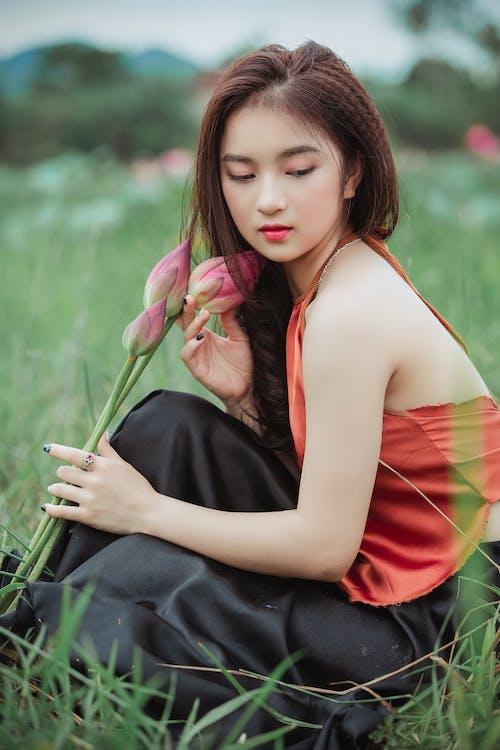 Δωρεάν στοκ φωτογραφιών με ασιατικό κορίτσι, ασιάτισσα, γήπεδο, γλυκούλι