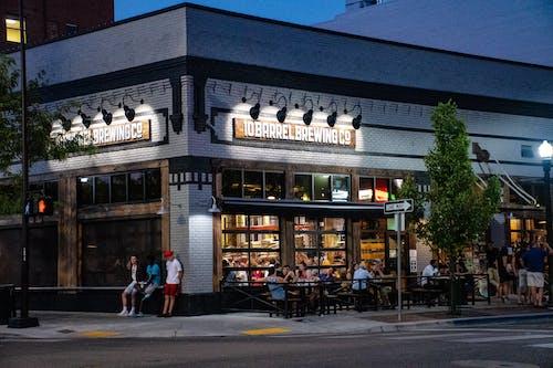 タウン, レストラン, 商取引, 建物の無料の写真素材