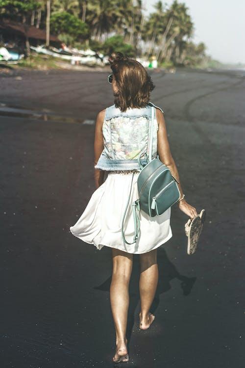 おしゃれ, ドレス, ビーチ, ファッションの無料の写真素材