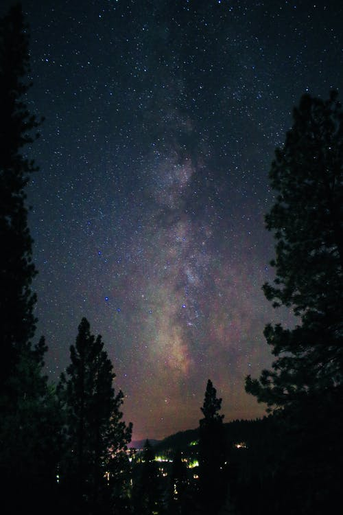 Foto profissional grátis de astronomia, cênico, céu, céu estrelado