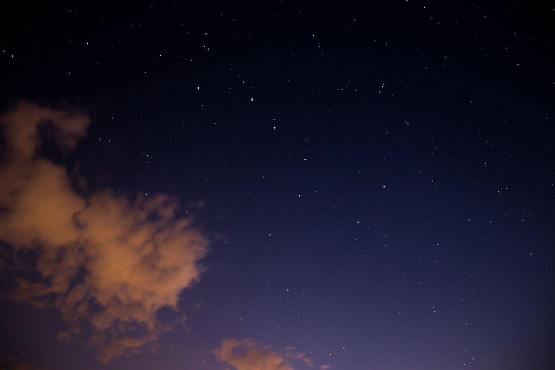 astronomie, dalekohled, hvězdná obloha