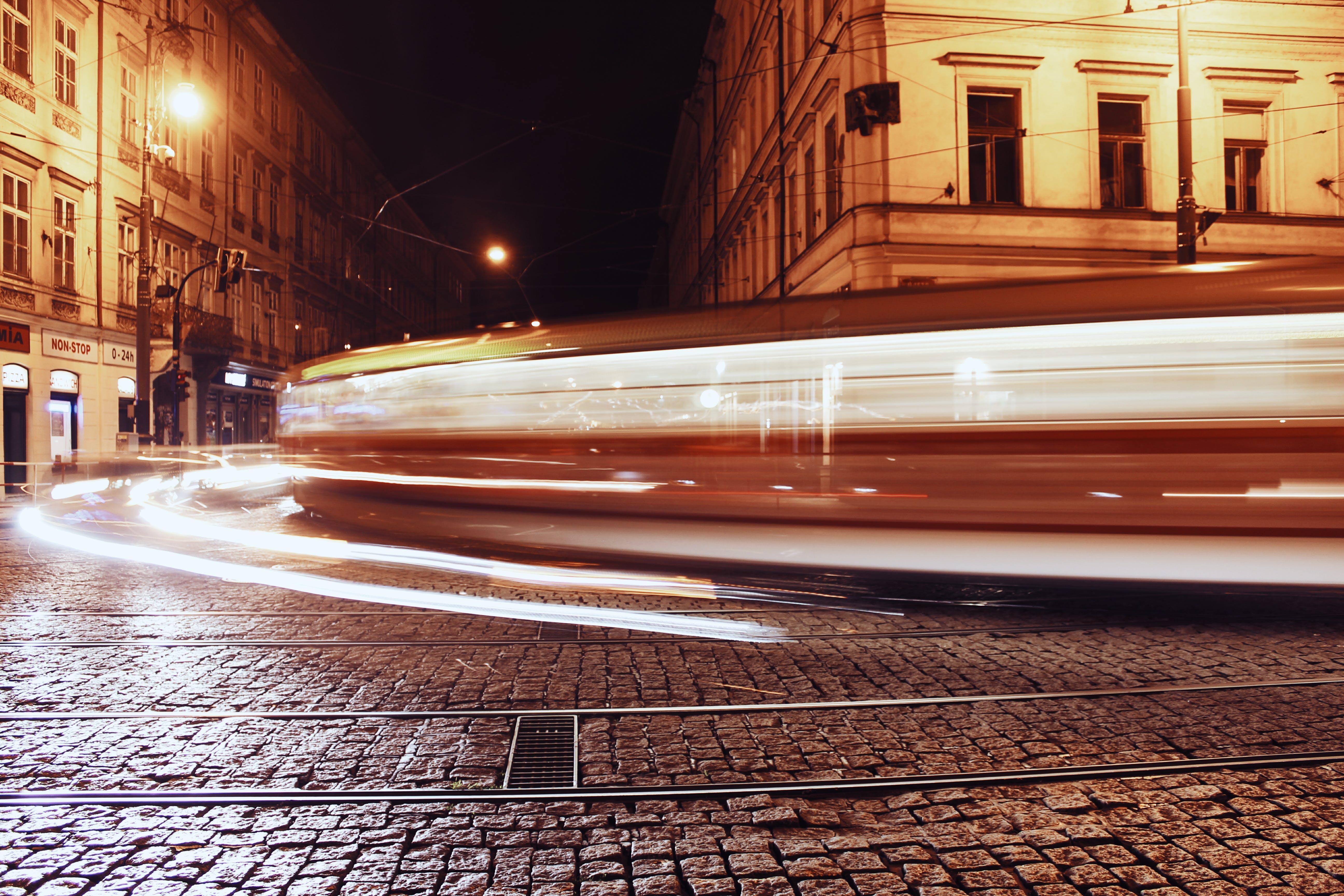 Free stock photo of night, city lights