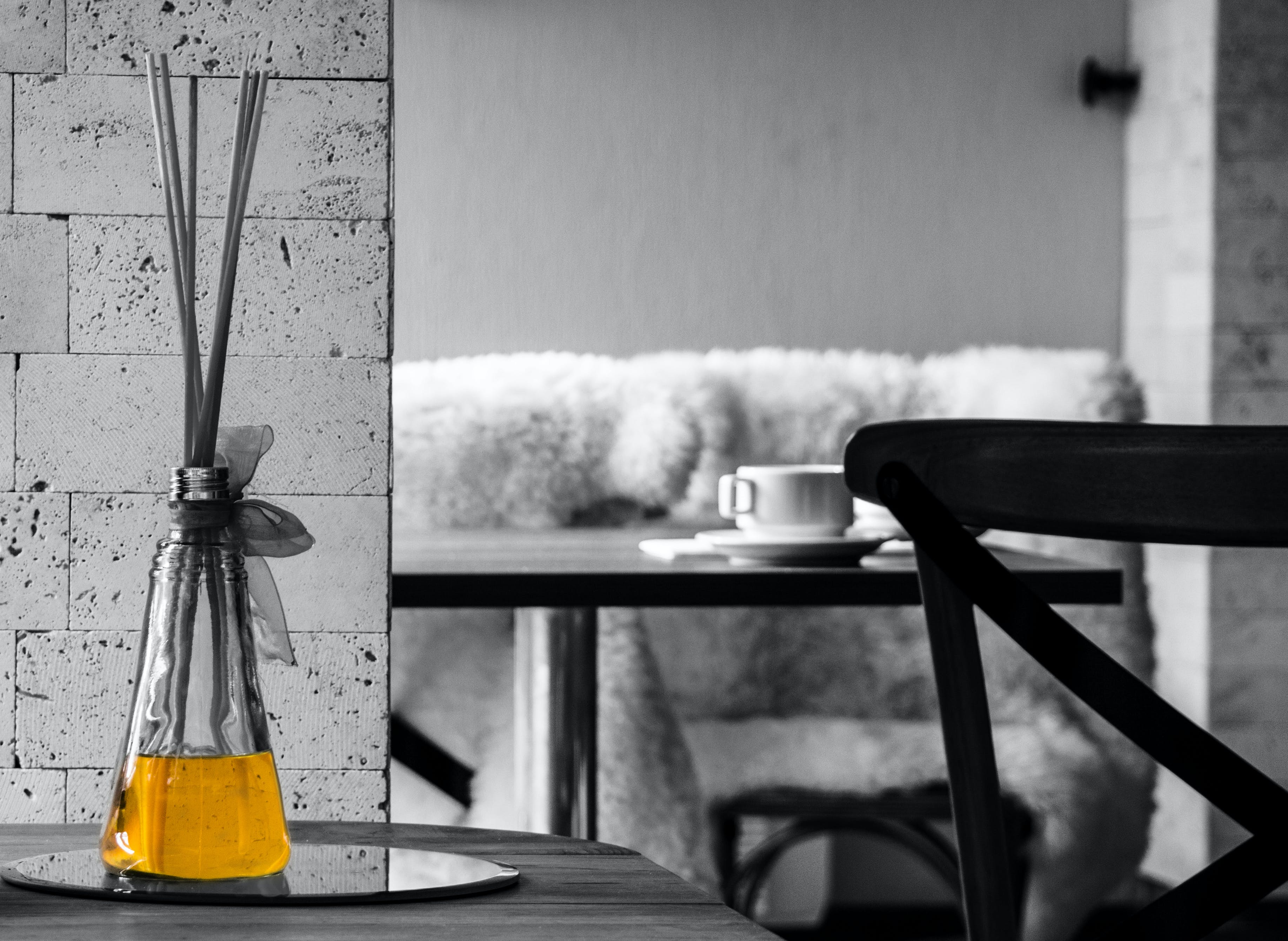 Free stock photo of black and white, chair, decoration, furnitures
