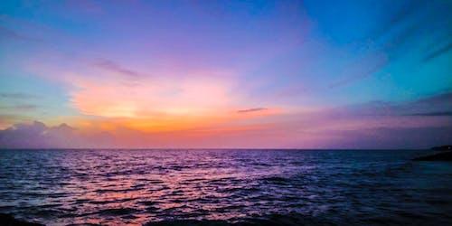 Free stock photo of clouds, evening, evening sun