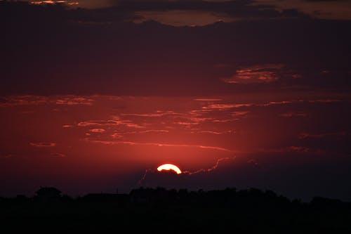 Бесплатное стоковое фото с восход, закат, небо, облака