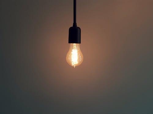 가벼운, 램프, 밝은, 백열등의 무료 스톡 사진