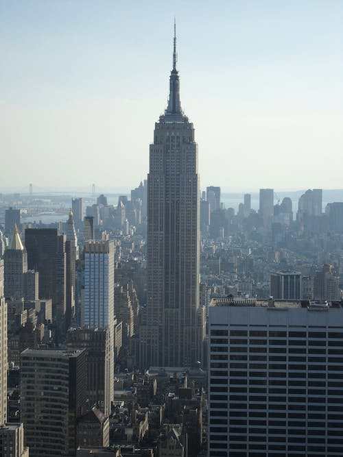 Free stock photo of empire state building, new york