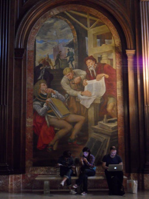 Free stock photo of art, new york library, painting