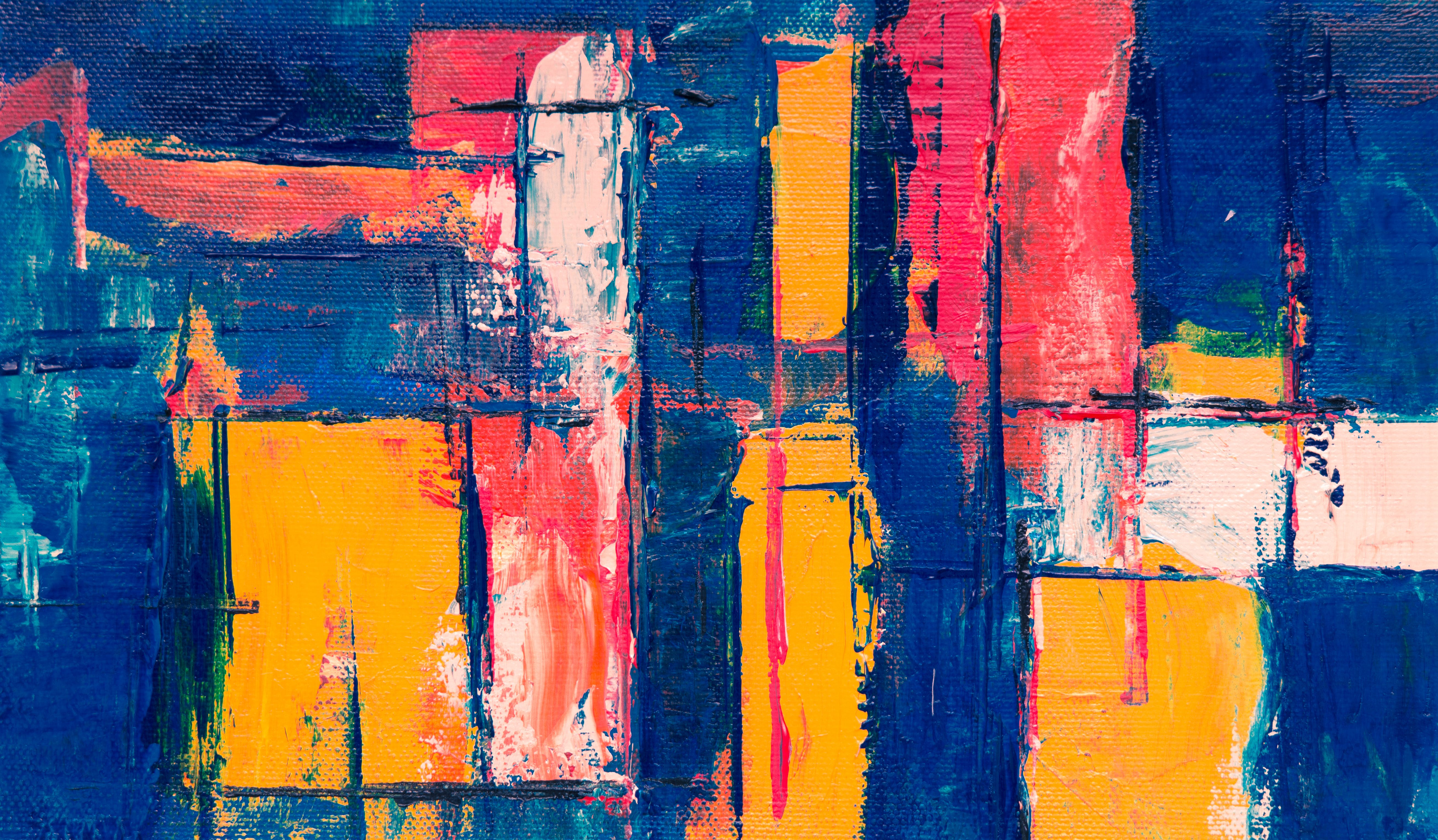 Multicolored Abstract Art