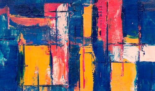 Ảnh lưu trữ miễn phí về acrylic, bức họa, bức tranh trừu tượng, chủ nghĩa biểu hiện