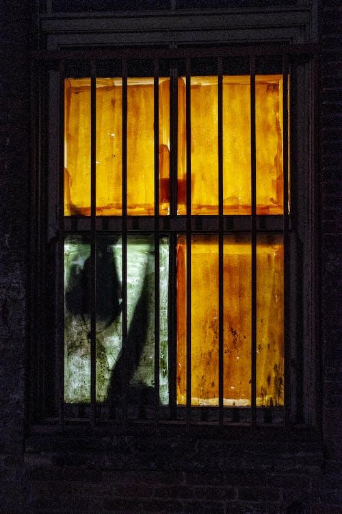 Gratis stockfoto met donker, omtrek, raam, smerig
