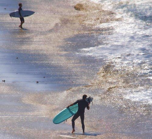 Fotobanka sbezplatnými fotkami na tému breh, južná kalifornia, kývať, opustená pláž