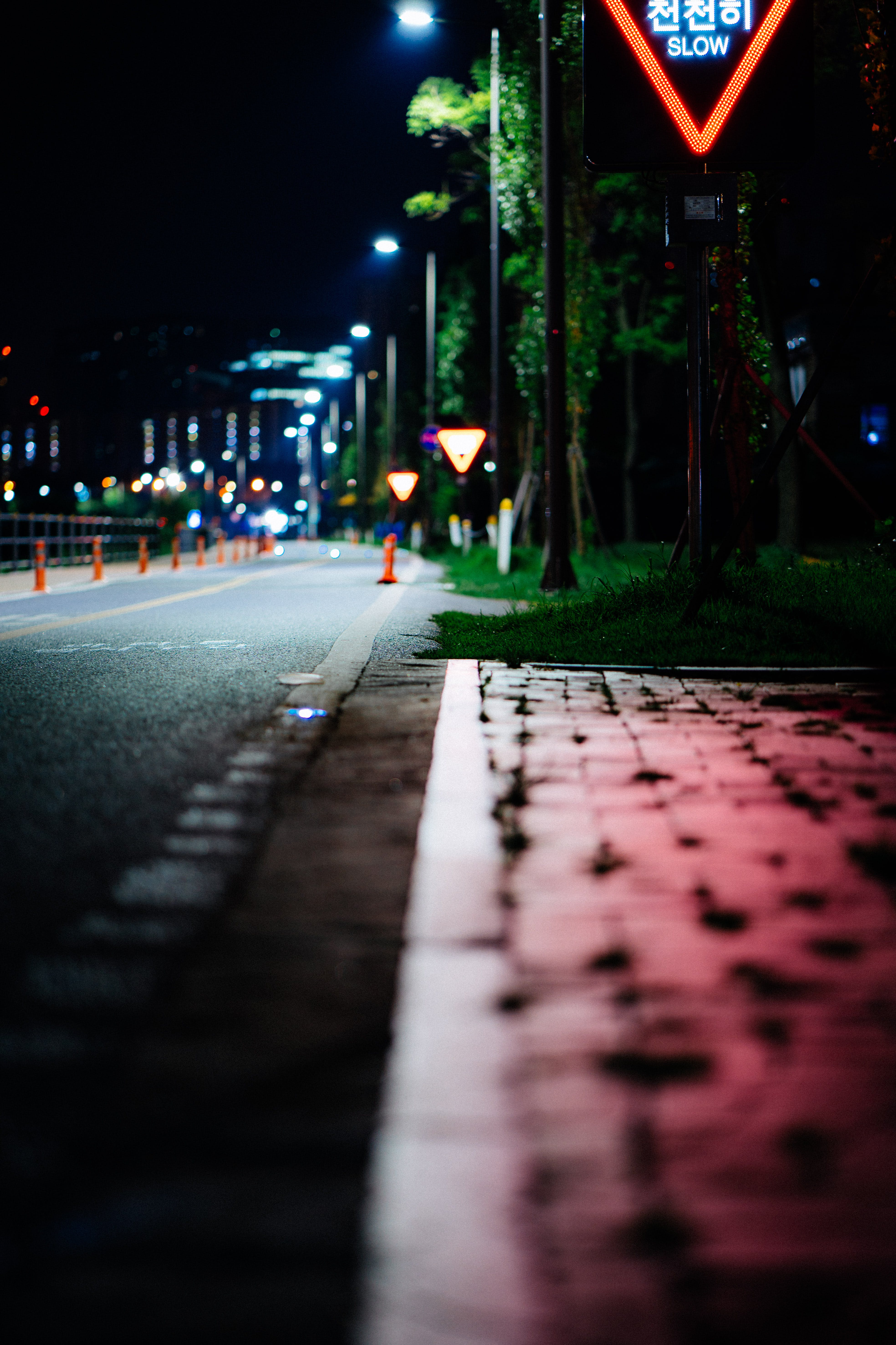 Free stock photo of city, road, red, street