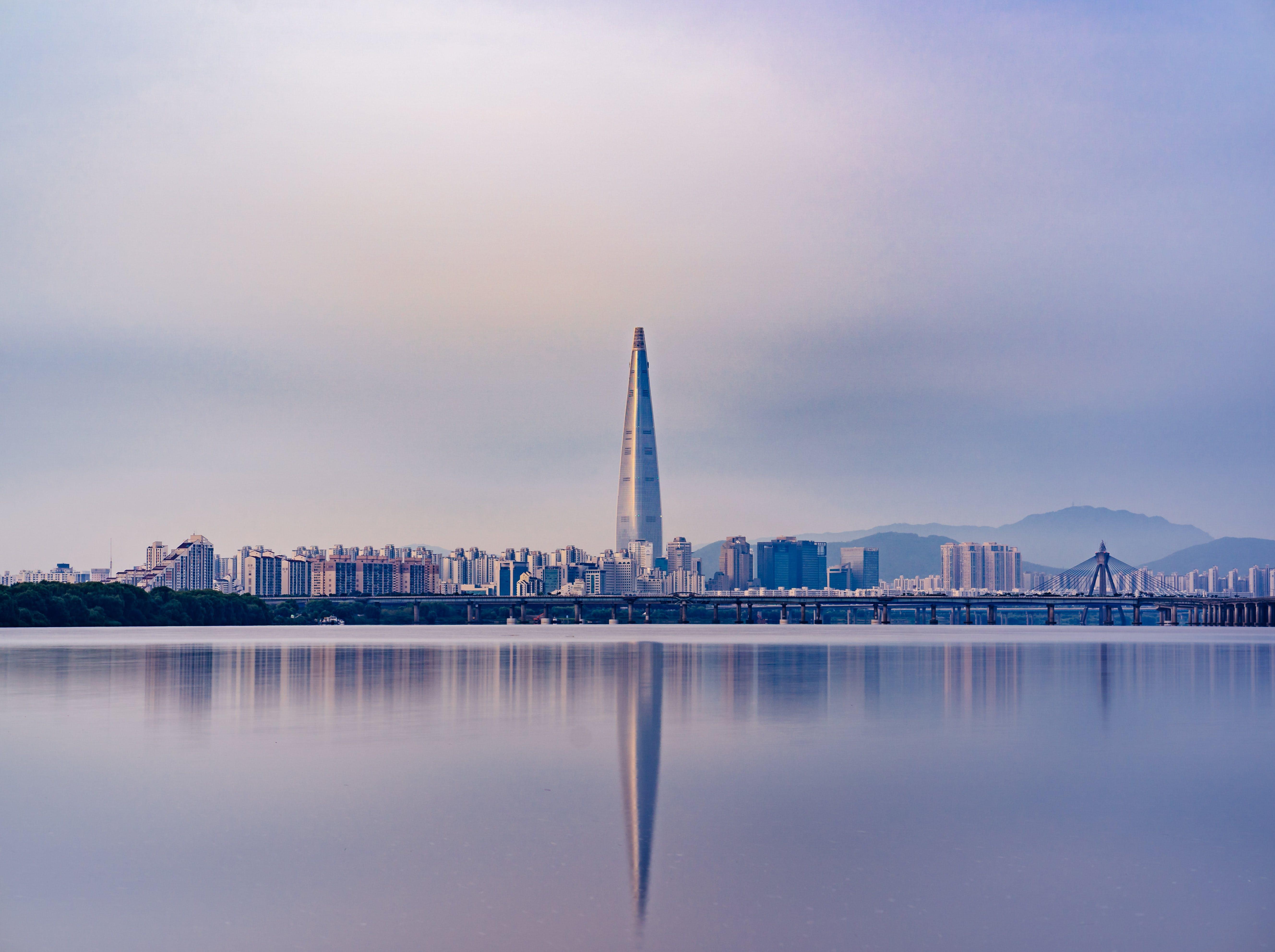 Free stock photo of city, landscape, morning, cityscape