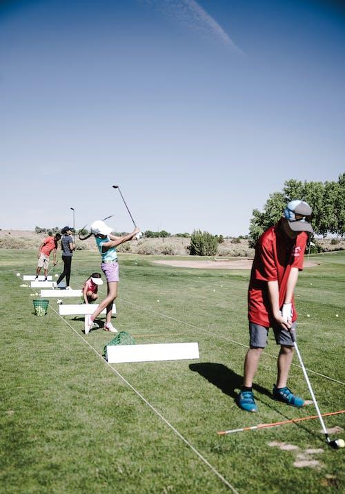 Leute, Die Golf Spielen