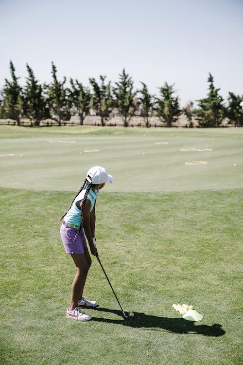 Základová fotografie zdarma na téma denní světlo, fervej, golf, golfista