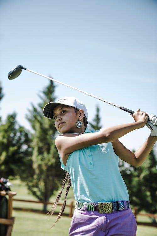 Základová fotografie zdarma na téma denní světlo, golf, golfista, golfový klub