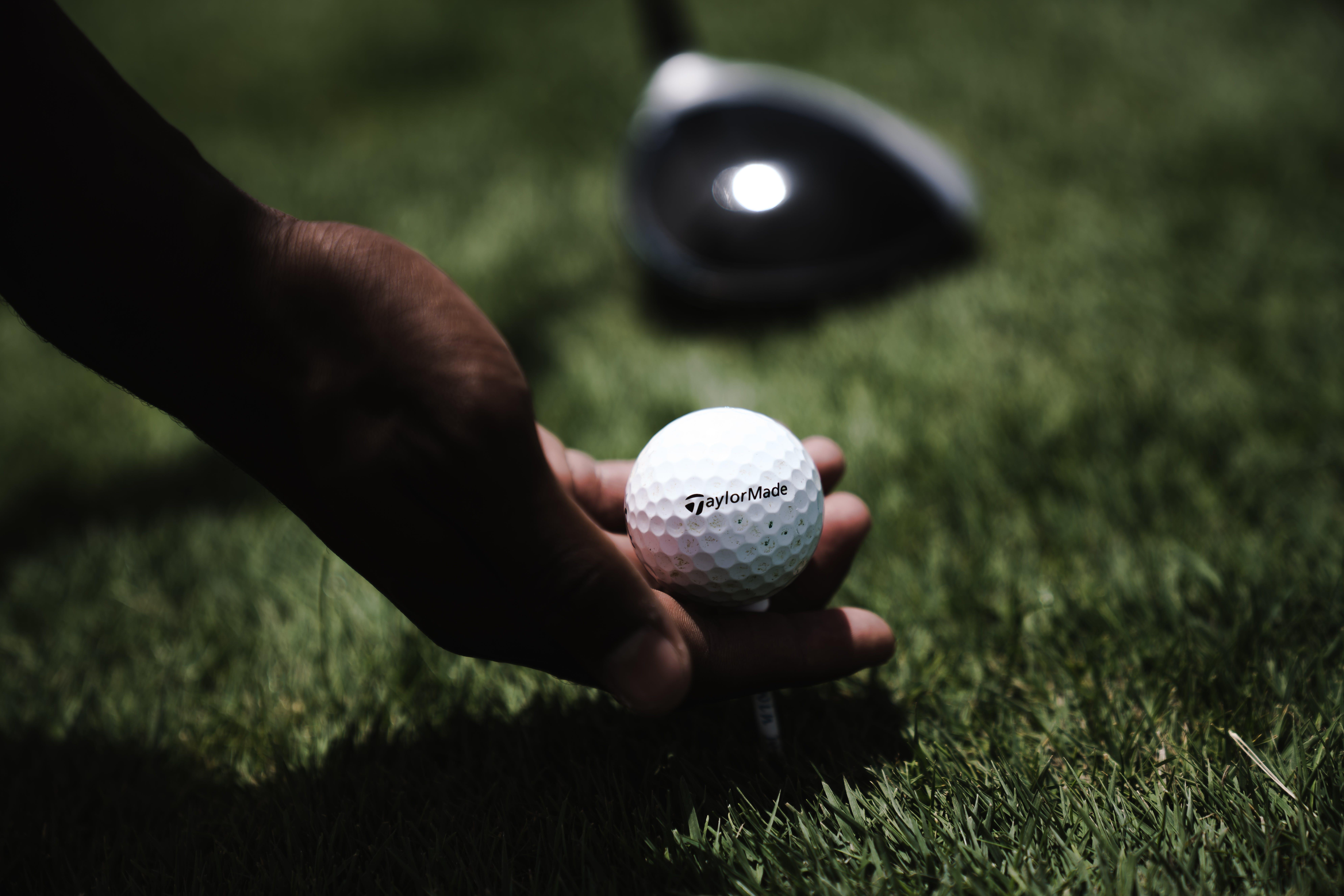 ball, fokus, golf
