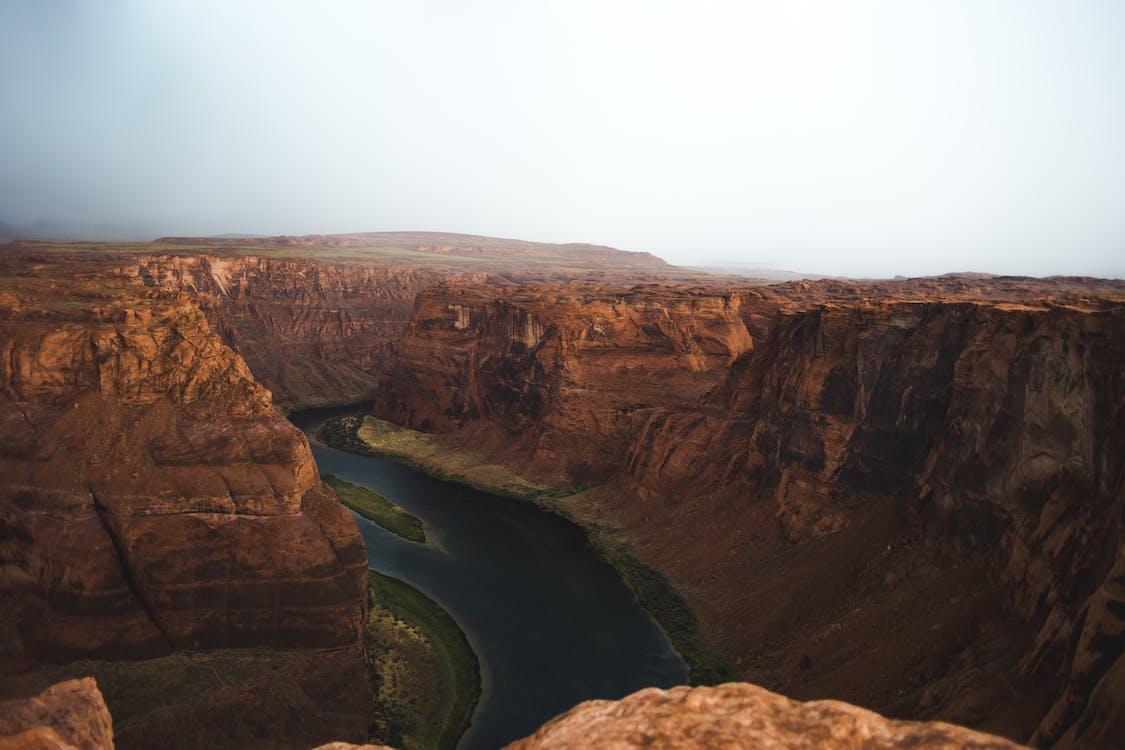 Gratis lagerfoto af bjerg, dal, flod