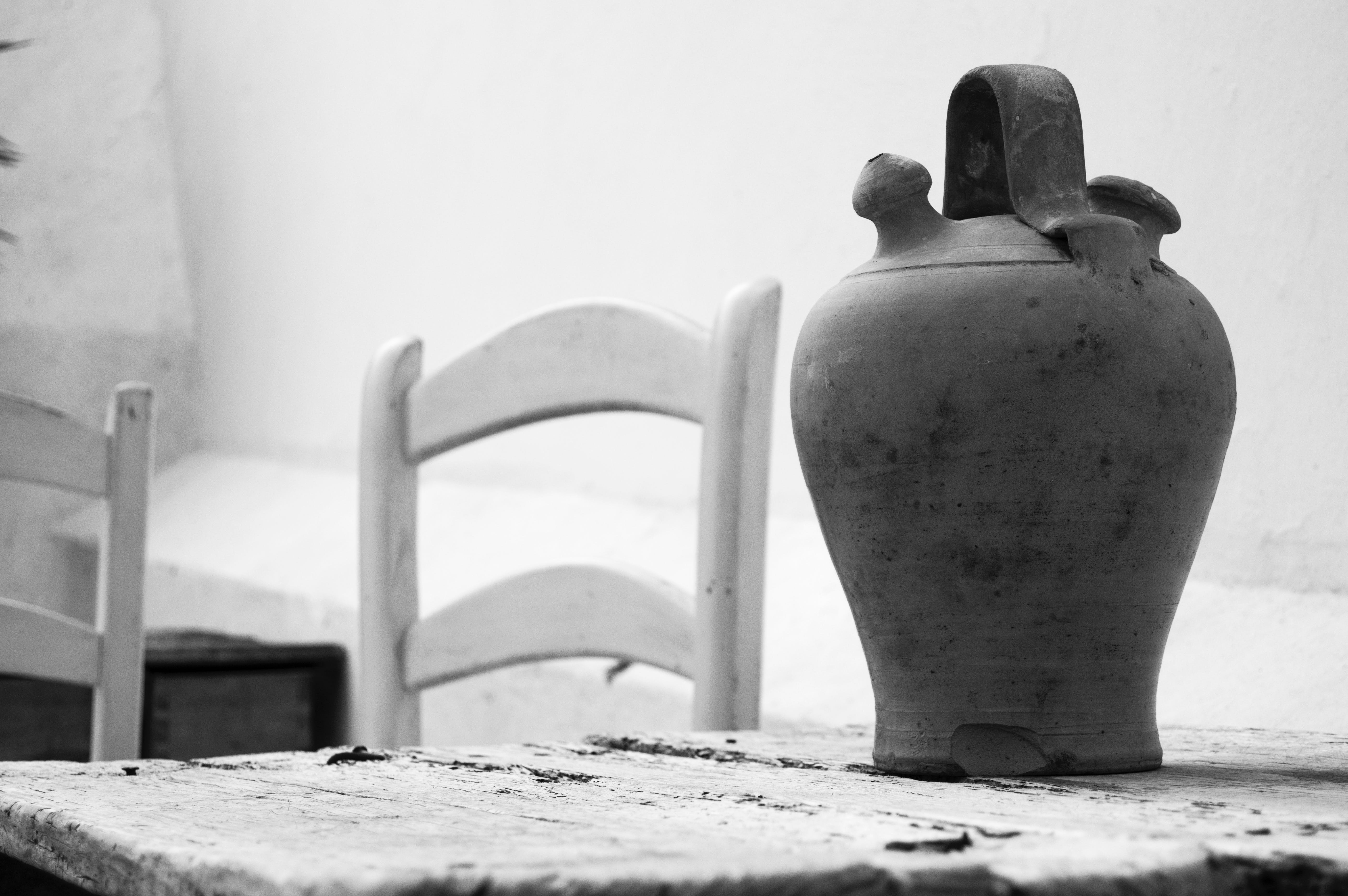 Free stock photo of black-and-white, old town, still life