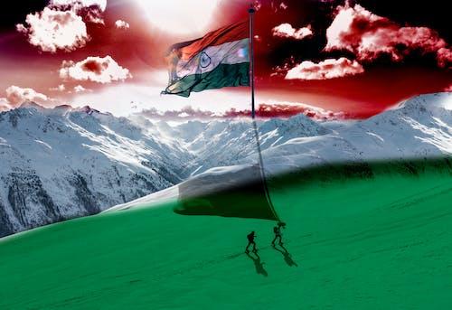 스튜디오 스튜디오, 인디언 국기의 무료 스톡 사진