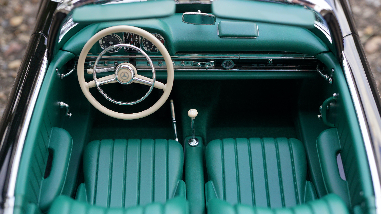 Vintage Mercedes Benz Sedan