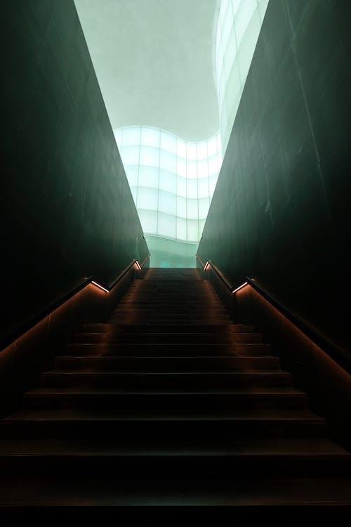 Arsitektur, berbayang, cahaya