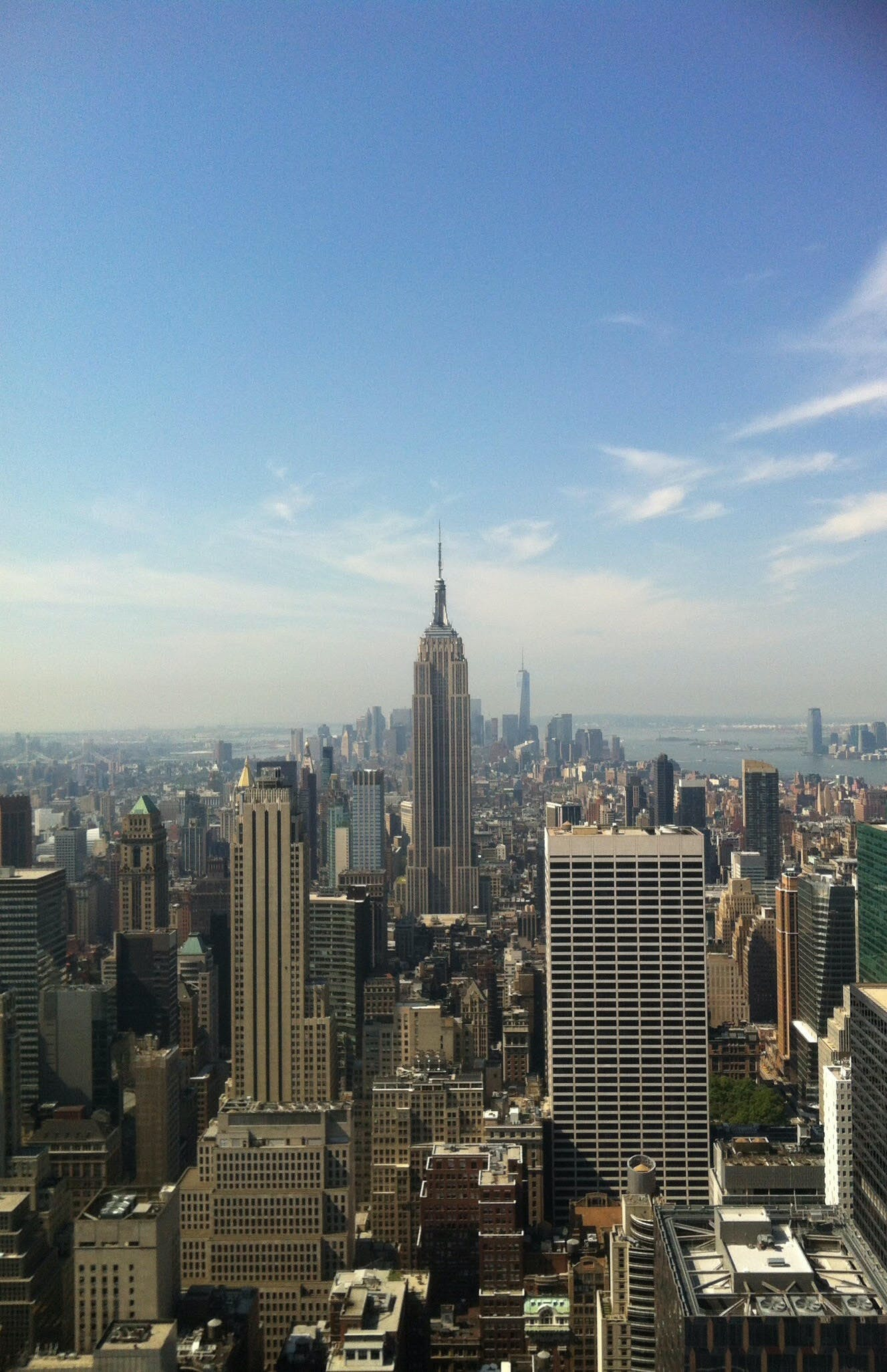 Empire State Building Under Blue Sky